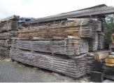 Scierie - stock bois en plateau